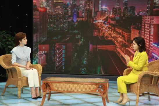 中央电视台主持人李思思对话爱大爱创始人邓蕙欣_中国养生保健网
